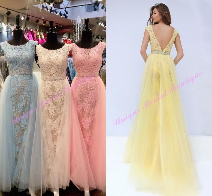 F138 Gorgeous A-line Long Prom Dress Evening Dress,Lace Long Bridesmaid Dress,Real Photo Dress,Mermiad Wedding Party Dress